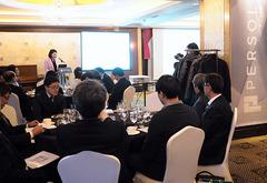 パーソルグループは、新ブランド「パーソル」を掲げて韓国をはじめとするアジアで人材サービスを拡大する=12月1日、ソウル(NNA撮影)