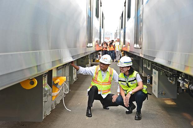 首都MRT車両、今月から試験実施...