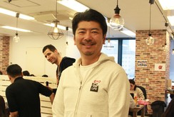 OYO TECHNOLOGY&HOSPITALITY JAPANの勝瀬CEO=26日、東京(NNA撮影)