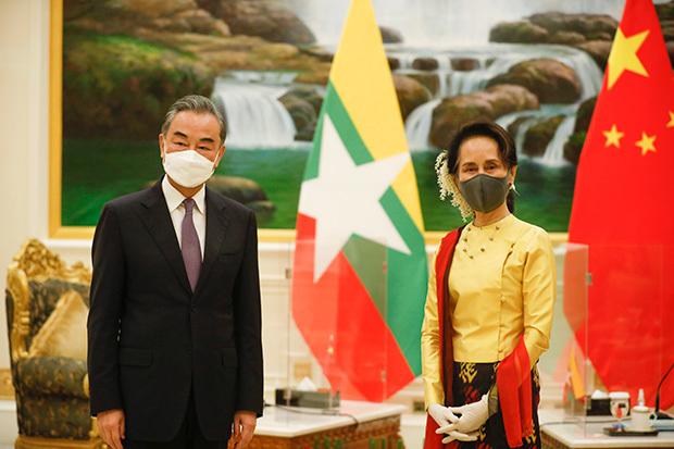 中国 ミャンマー